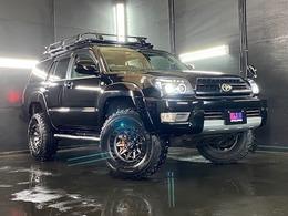 トヨタ ハイラックスサーフ 2.7 SSR-X 4WD 17AW マッドタイヤ イカリング付HIDライト