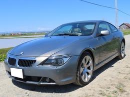 BMW 6シリーズ 645Ci クーペ ガラスルーフ 本革 検R3/4