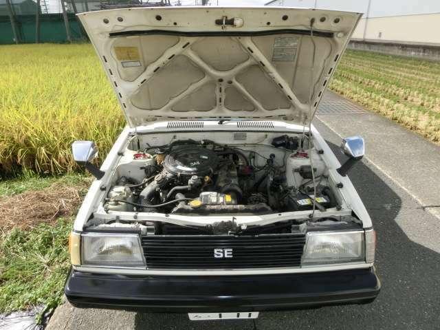 エンジンは3A-U