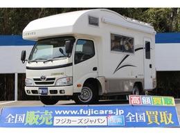 トヨタ カムロード キャンピング バンテック コルドリーブス トリプルサブバッテリー インバーター