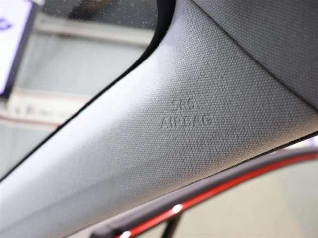 カーテンエアバック!万が一の時にエアバックが開いてあなたのケガの危険性を軽減してくれます♪あくまでもシートベルトの補助装置ですので必ずシートベルトを装着くださいね♪安全運転が第一ですよ♪
