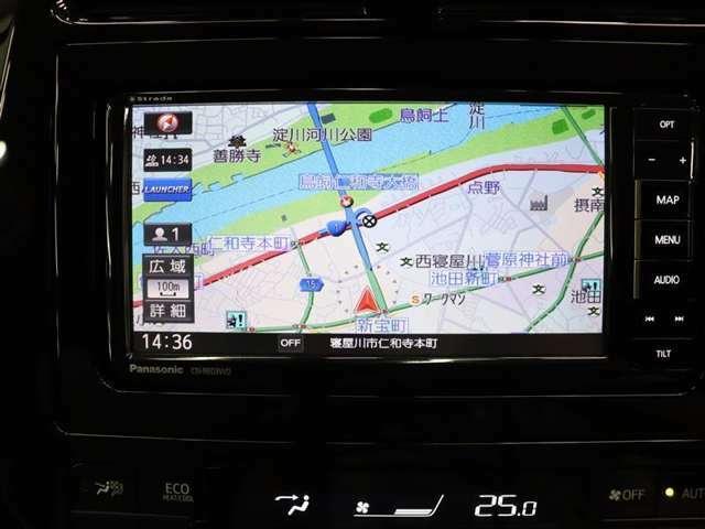 ドライブやレジャーのマストアイテム!快適なドライブをサポートするSDナビ&フルセグTV付きなので、車内環境は良好です☆彡 お出掛けするのもとってもワクワクしていけそうですね~♪
