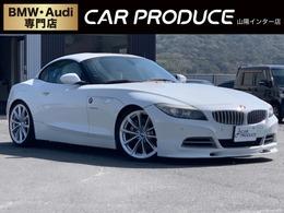 BMW Z4 sドライブ 35i 左ハンドル 車高調 白レザーシート ETC