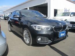 BMW 1シリーズ 118i Mスポーツ 黒革 純正HDDナビ LEDライト Bカメラ