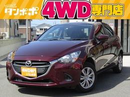 マツダ デミオ 1.5 15S 4WD レンタUP 純正ナビ/ワンセグTV