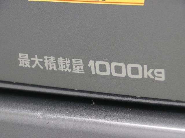 積載可能な量が貼ってありますね。 この量までじゃんじゃん載せられちゃうので色んな用途に使えますね。