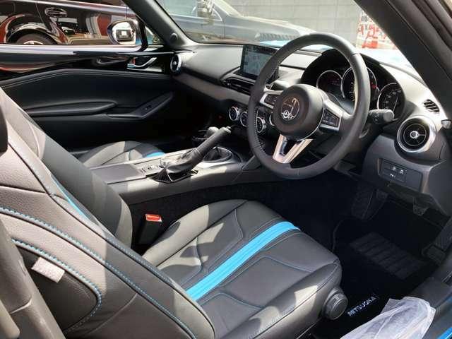 内装の状態も大変良好です。オプションのレザーシートです!もちろんシートヒーター付です。