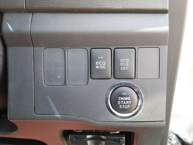 プッシュスタート付きです♪ボタン一つでエンジン始動!