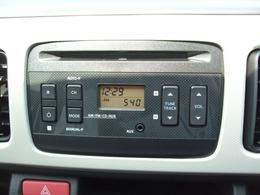 純正CDデッキ装備♪お好みのBGMで車内を演出して下さい♪