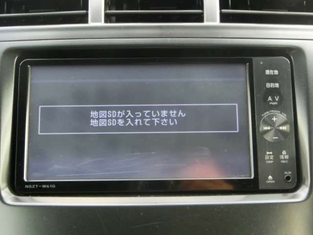 純正SDナビ<NSZT-W61G>DVD・CD・SD・AUX