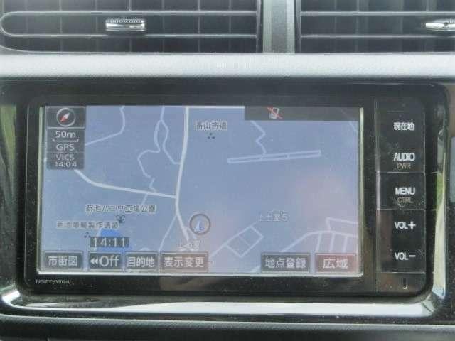 純正SDナビ【NSZT-W64】Bluetooth・ワンセグTV・CD・DVD・SD