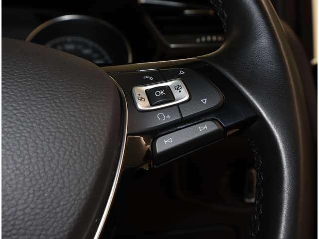 マルチファンクションステアリングがあなたのドライブをサポート致します。