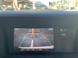 【バックカメラ】これがあると駐車の際の安心感が違います。