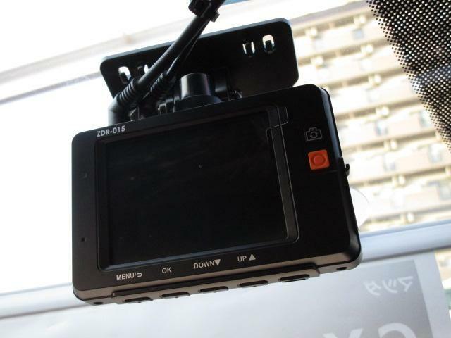!コムテックドライブレコーダー(2カメラ)を装着しました