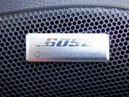 BOSEサラウンドシステム装備!高品質な音質をお楽しみ下さい。