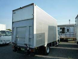 フルハーフ製アルミバン 工番T2EF120 荷室内寸 長さ450cm 幅176.5cm 高さ214cm ラッシング2段 床鉄板貼り