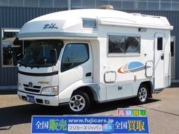 トヨタ カムロード キャンピングカー バンテック ジル 温水ボイラー FFヒーター トイレ