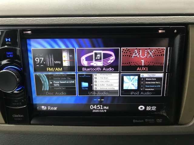 ナビ・DVD・Bluetooth・テレビはなしです!