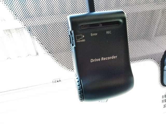 日産純正ドライブレコーダー付です。トラブル時にパソコンで映像の確認が出来ます。