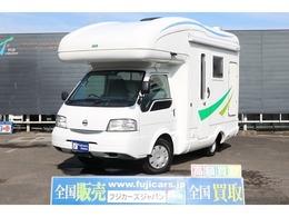 日産 バネットトラック キャンピング アネックス ラディ 4WD カセットトイレ FFヒータ- 冷蔵庫