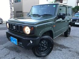 スズキ ジムニー 660 XL スズキ セーフティ サポート 装着車 4WD SDナビ 地デジ シートヒーター