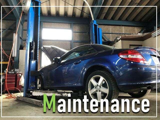 ☆運輸局指定・認証工場や各ディーラーにて24ヶ月点検・整備や修理などしております!代車も無料でご用意しております!