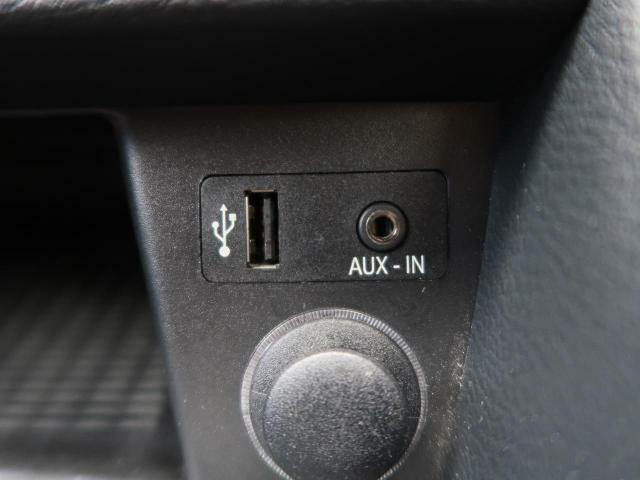 ●USB・AUX接続:お手元の外部機器を接続する事が出来るので、エンターテイメントも充実します!