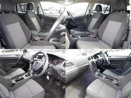 しっかりとしていて上質な座り心地のシートです。座り心地も良くて長時間の運転も快適ですよ。肌触りの良いシートが評判です。