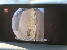 【サイドモニター】車の周囲を確認することができます☆縦列駐車や幅寄せ等でも活躍すること間違いなし!!
