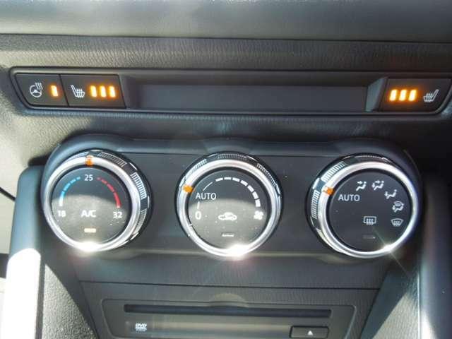 便利な『オートエアコン』装備となっております。ボタン1つで、快適なドライブが満喫できます♪シートヒーターの装備されているので、寒い季節には嬉しいですね☆
