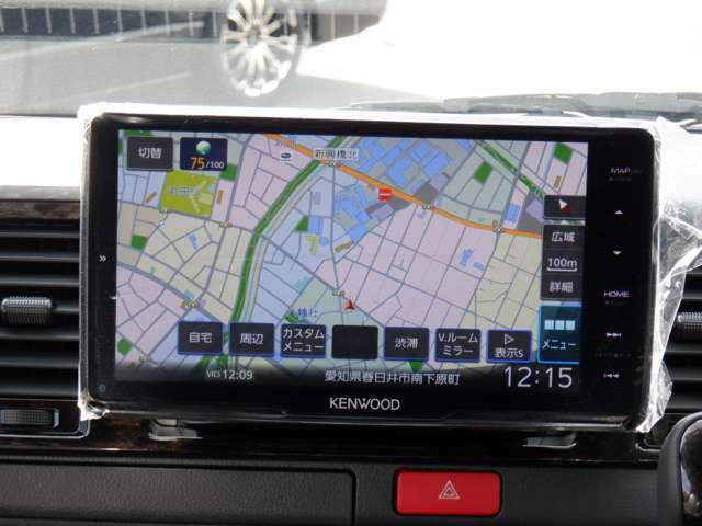 9inフローティングナビTV/Bluetooth/DVD再生/Bカメラ/デジタルインナーM/パノラミックビューM/両側パワスラ/LEDヘッド/ESSEXリップスポイラー/17inAW/2inローダウン