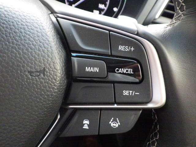★クルーズコントロール★ 高速道路などでアクセルを操作しなくても一定速度で走行可能な『クルーズコントロール』付きです!ロングドライブがとても楽になります♪