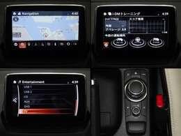 7インチセンターディスプレイにナビやフルセグTV(走行中は音声のみ)などエンターテーメント機能を凝縮。拡張機能も充実 Bluetooth USB AUX CD/DVD/TVまで装備!