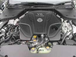 3.0LV6ツインターボエンジン。やばすぎる。