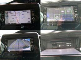 SDナビにフルセグTVバックカメラも装備しております。