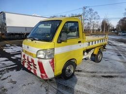 ダイハツ ハイゼットトラック 660 道路管理ダンプ 3方開 4WD