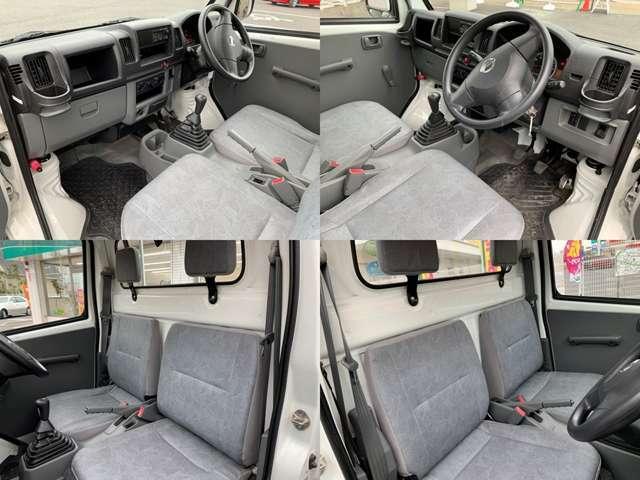 ◆こちらは車内の写真です♪ほぼ仕事などに使用するお車なのでシンプルな作り!!