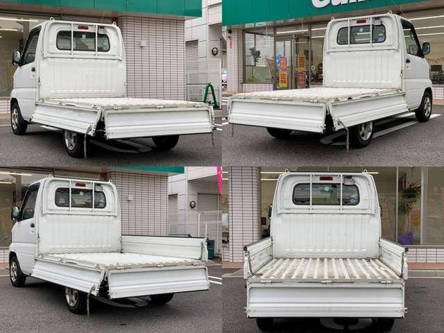 ◆荷台をオープンにした状態です。荷台があるといろんな物を運べますね♪