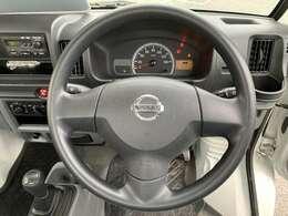 ◆運転席に乗り込むとよし、出発進行!となりたくなる運転席です。