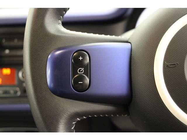 高速走行時に特に便利な、クルーズコントロールを装備しています。