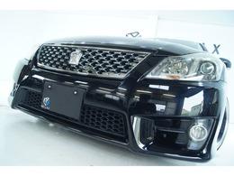 トヨタ クラウンアスリート 2.5 スペシャルナビパッケージ 新品車高調 新品19ホイール 新品タイヤ