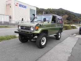 トヨタ ランドクルーザー70 4.2 ZX FRPトップ ディーゼル 4WD デフロック リフトアップ公認 ターボ