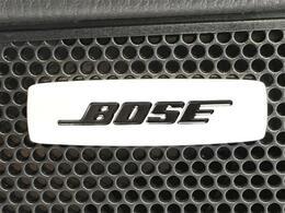 BOSEプレミアムサウンド!上質な車内空間でドライブをお楽しみください。