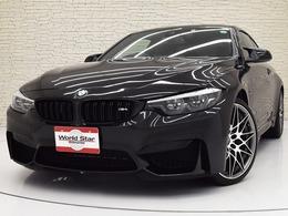 BMW M4クーペ コンペティション M DCT ドライブロジック カーボンルーフ/カーボンインテリア/禁煙車