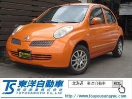 日産 マーチ 1.4 14e-four 4WD