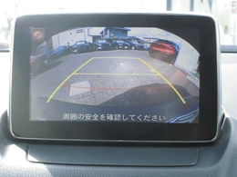駐車支援のバックカメラが装備されてます。