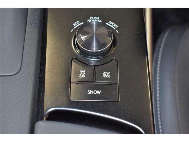 タイヤ空転防止装置&ECO&EV走行モード切替スイッチ