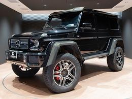 メルセデス・ベンツ Gクラス G550 4x4スクエアード 4WD サンルーフ  22インチアルミ ディーラー車