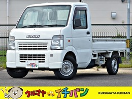 スズキ キャリイ 660 KU エアコン・パワステ 3方開 4WD 夏冬タイヤ付 サビ無 エアコン パワステ
