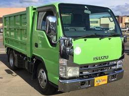 いすゞ エルフ 4WD IC-TB FFローSG 2t強化深ダンプ